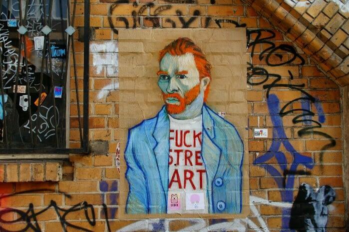 Van Gogh Streetart Berlin