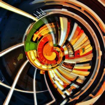 Digitale Malerei Individuation | Bild Maler Ron Kirchner