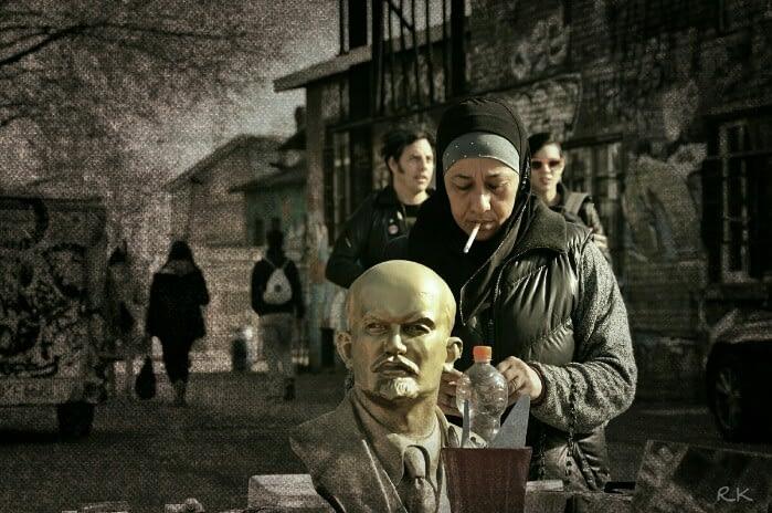 Muslima und Lenin Berlin Ron Kirchner